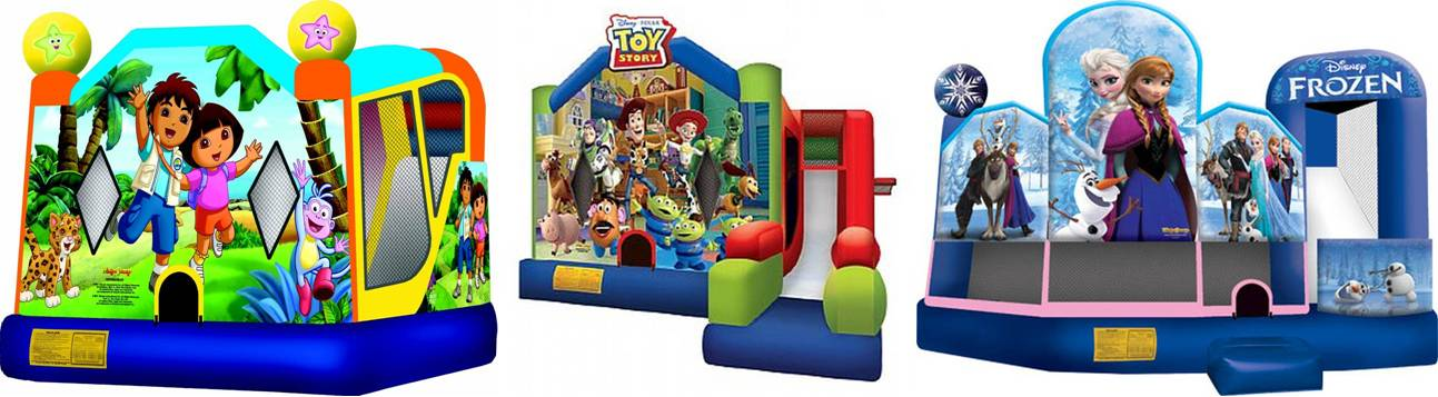 new york city inflatable and bounce house rental gallery