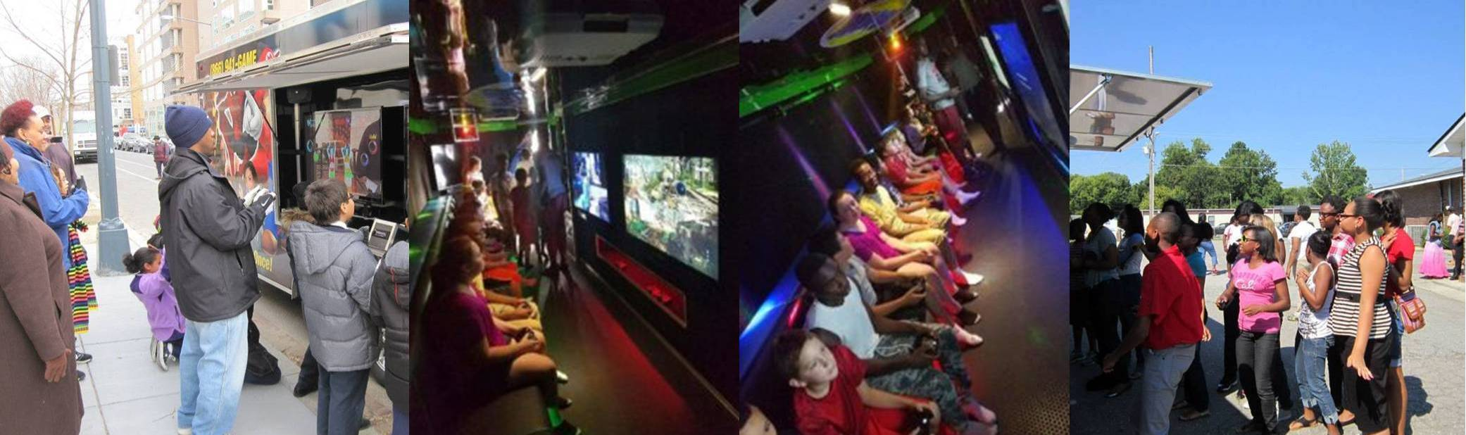 Birthday Party Idea In New York City And Long Island Video Game Truck